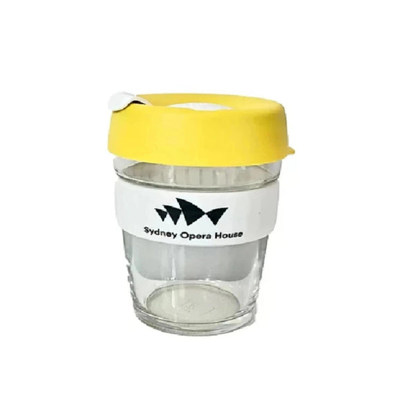 KeepCup (Glass) - Yellow - Sydney Opera House