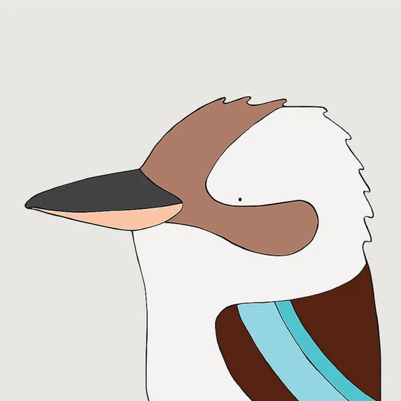 Art print - Laughing Kookaburra