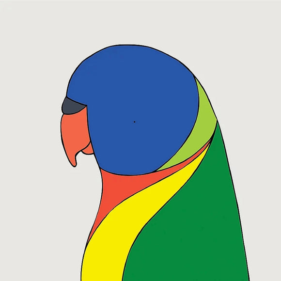 Art print - Rainbow Lorikeet