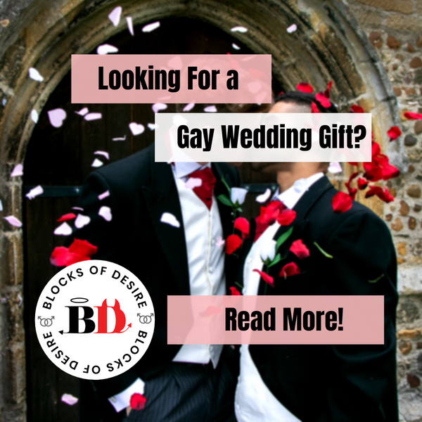In Search of A Truly Unique Gay Wedding Gift