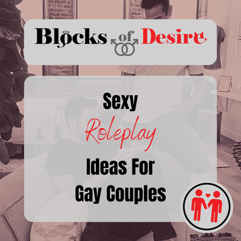 Sexy roleplay ideas for gay couples poster