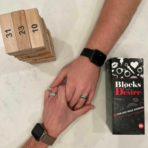 Blocks of Desire - A Romantic and Naughty Board Game for Gay Male Couples