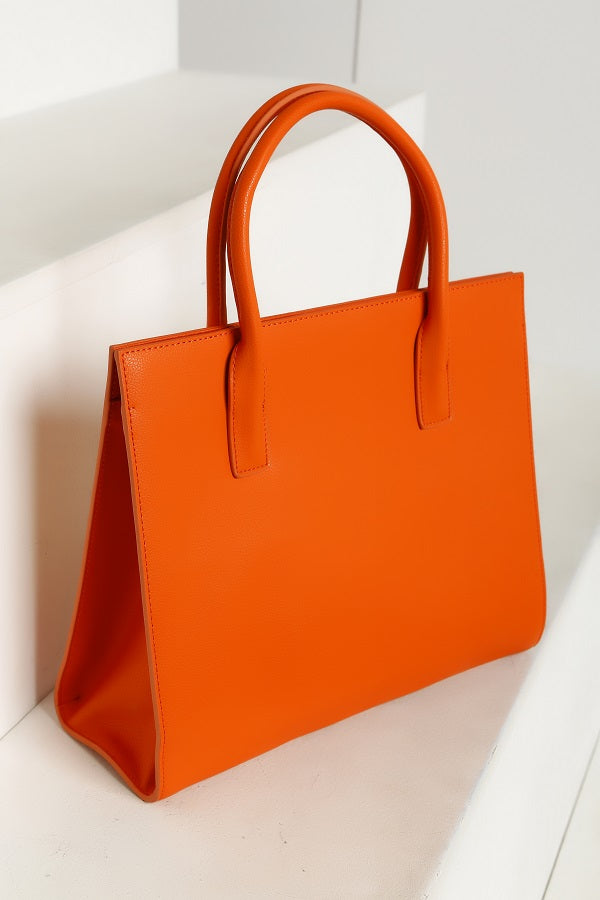 CLASSY SHIELA Red Yellow Tote