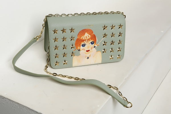 Posh Zena Verdant Green Crossbody
