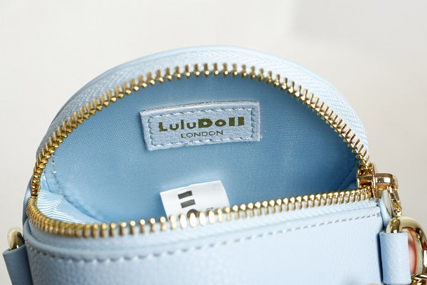GracefullY Avril Sky Blue Round bag