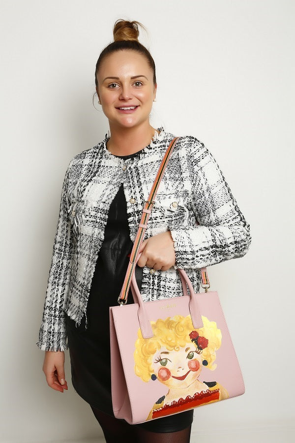 Happy Rene Rosy Pink Tote