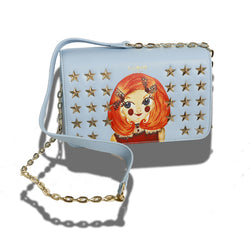 GracefullY Avril Sky Blue Crossbody