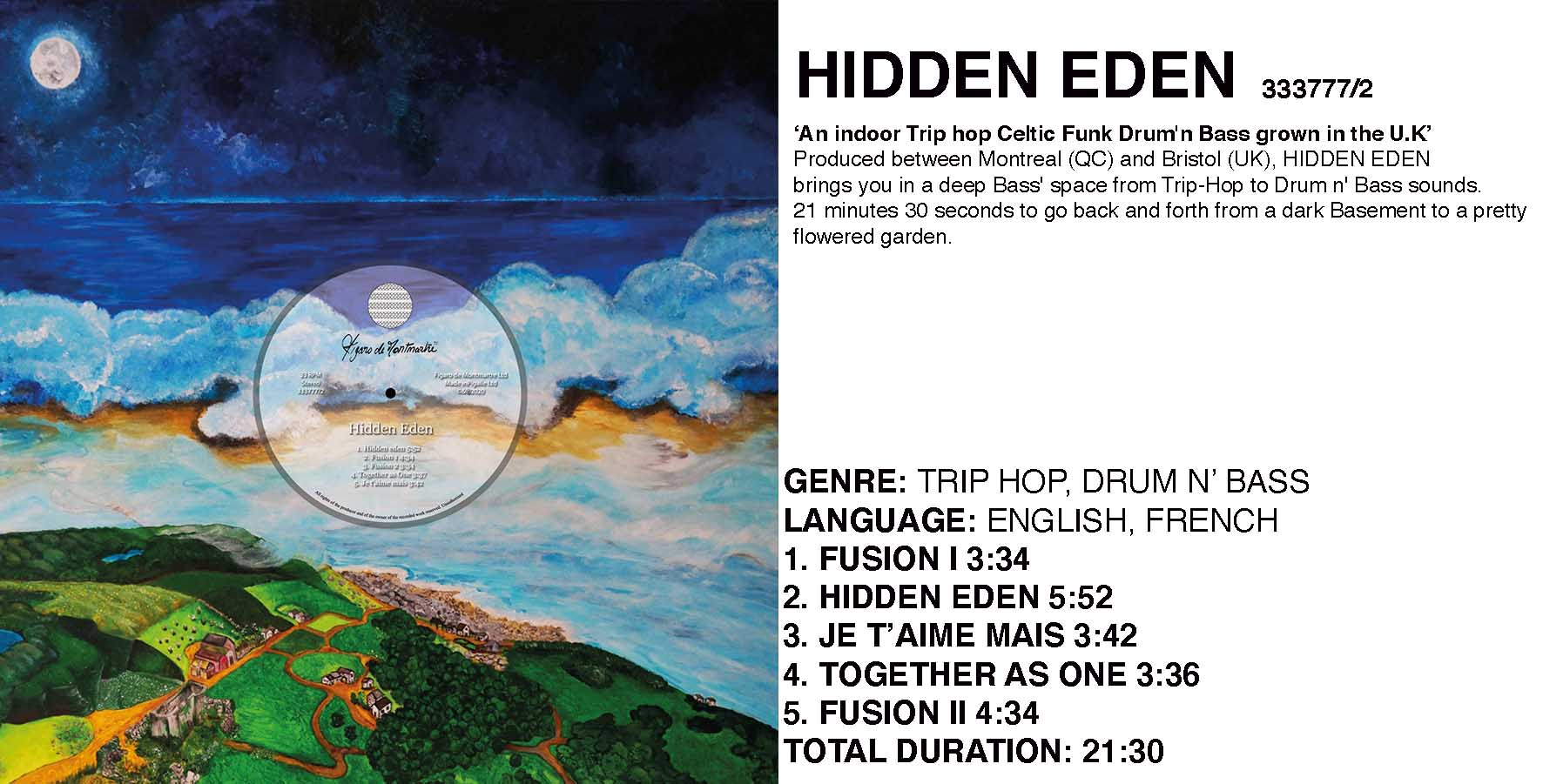 HIDDEN EDEN COLLECTION FDEM