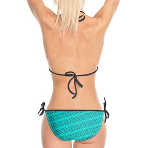 Icon bikini - Blue and Black