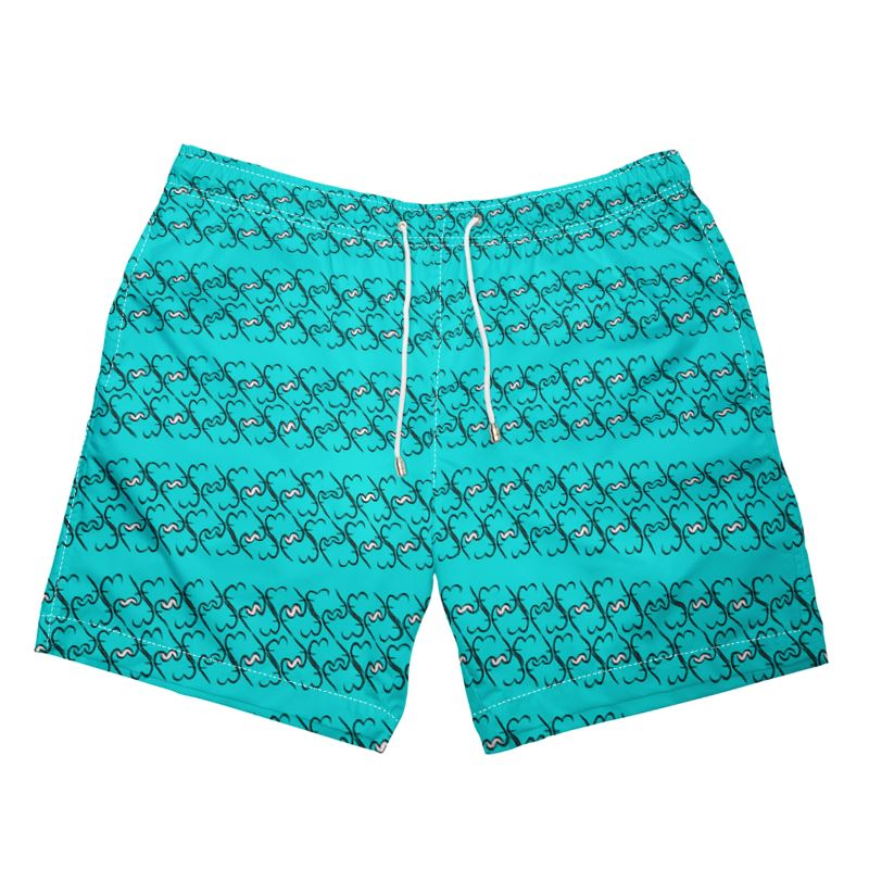 Icon Swimming Shorts - Turquoise