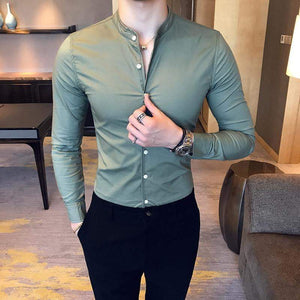 Fashion Long-sleeved Shirts - RinmakStyle