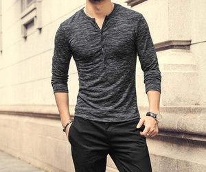 Stylish T-shirt Long Sleeve - RinmakStyle