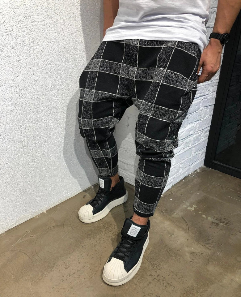 Casual Plaid Pants (4 colors)