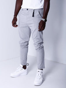 Slim Fashion Pants - Gray