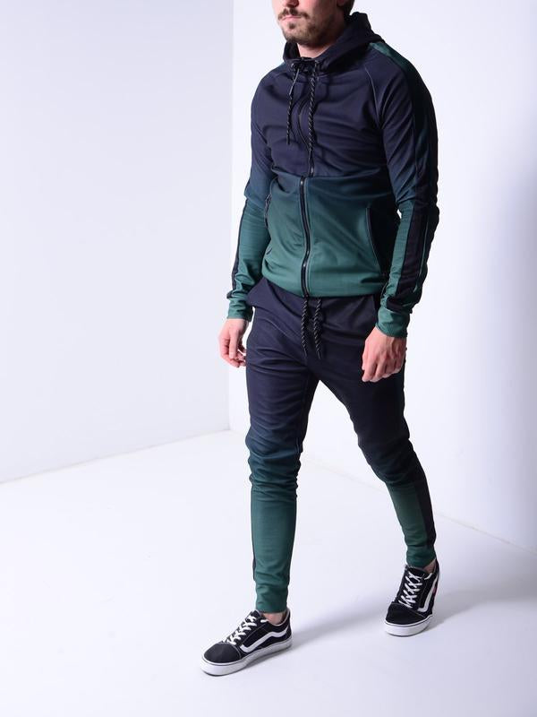 Printed Hooded Tracksuit (2 colors)