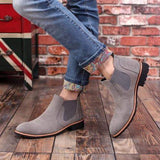 Suede Chelsea Boots (3 Colors) - RinmakStyle