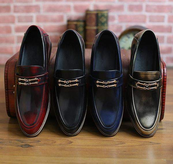 Vintage Loafers (4 Colors) - RinmakStyle