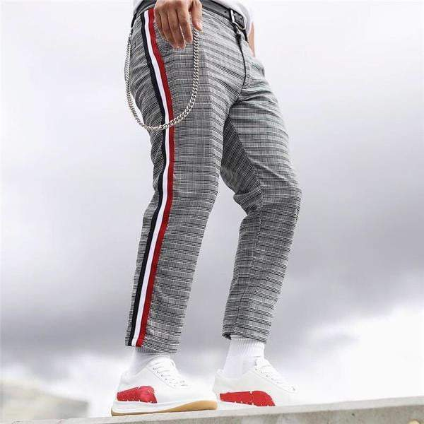 THE PANTHER PLAID PANTS (2 Colors) - RinmakStyle
