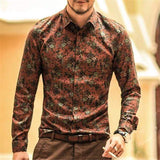 Fashion Floral Shirt (5 colors) - RinmakStyle