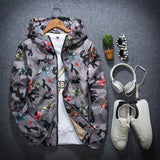 Printed Camouflage Jacket (4colors) - RinmakStyle