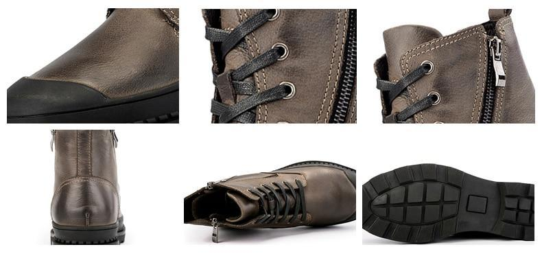 Leather Elegant Boots (2 colors) - RinmakStyle
