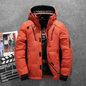Hooded Down Parka (5 colors) - RinmakStyle