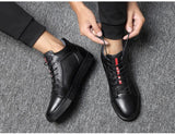 Leather Stylish Boots - RinmakStyle
