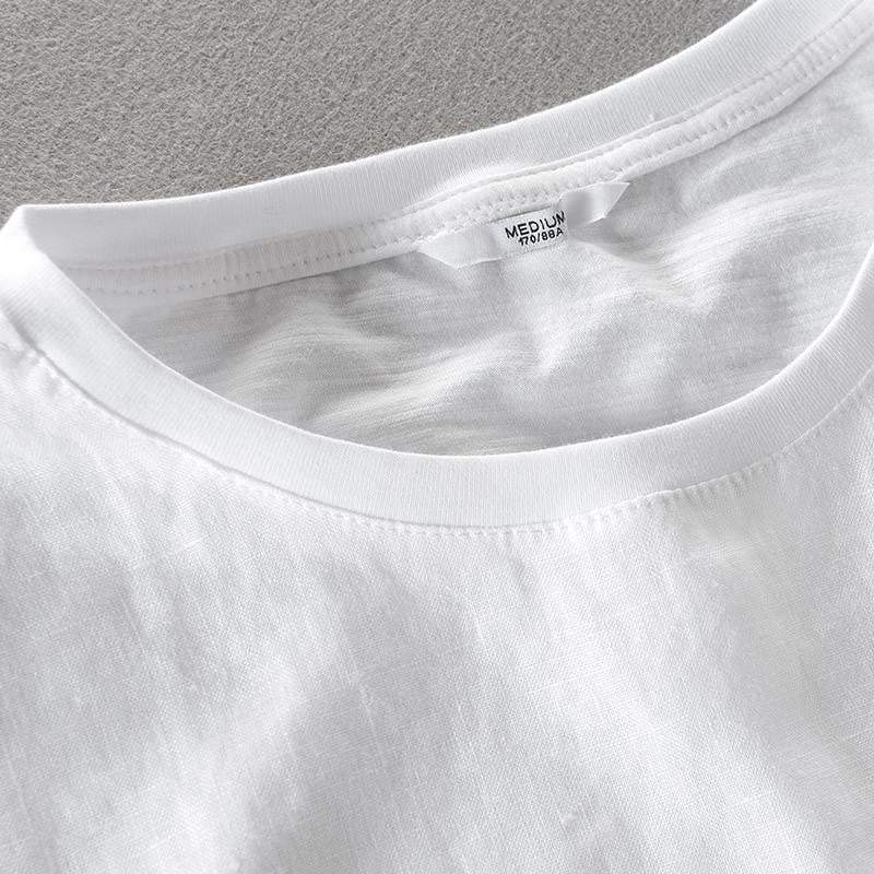 Fashion Linen T-shirt - RinmakStyle