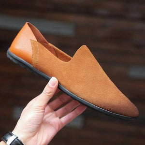 Comfortable Suede Loafers (5 colors) - RinmakStyle