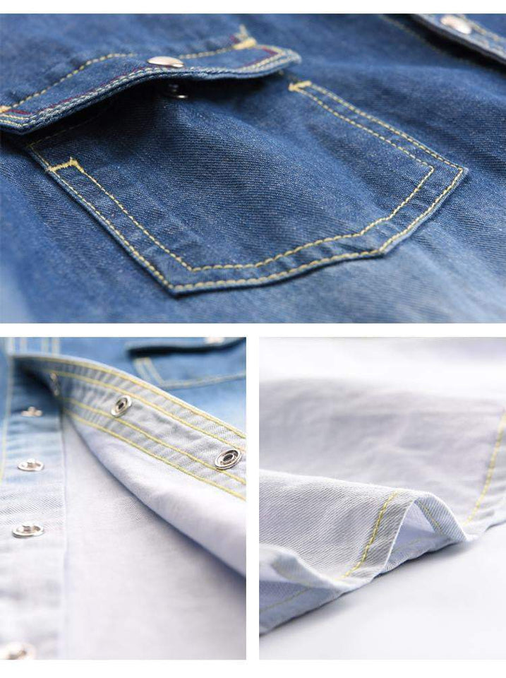 Spring jeans shirt - RinmakStyle