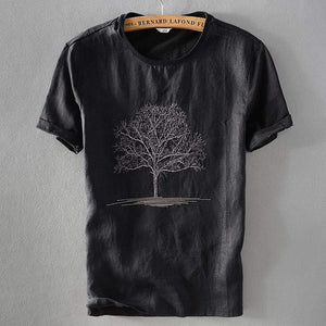 Linen T-shirts TERRY (2 colors) - RinmakStyle