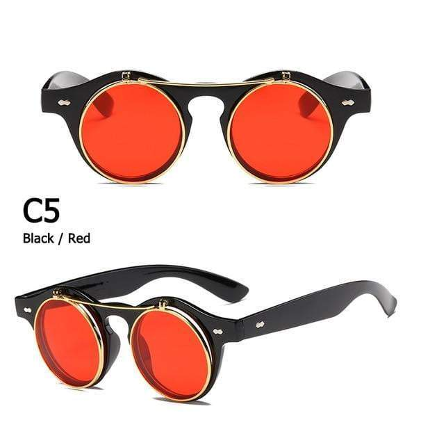 Fashion Sunglasses. Clamshell Design - RinmakStyle