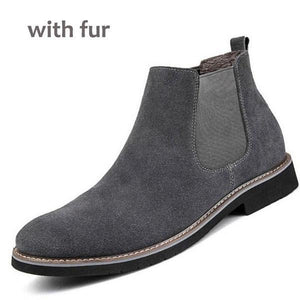 Leather Fashion Chelsea Boots (4 colors) - RinmakStyle