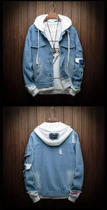 Fashion Denim Jacket (4 colors) - RinmakStyle