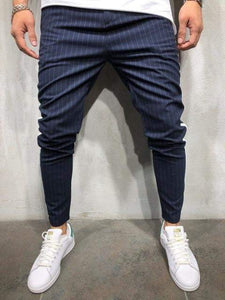 Men's Casual Striped Pants - RinmakStyle