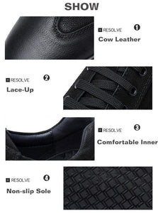 Leather Sneakers DELUXE - RinmakStyle