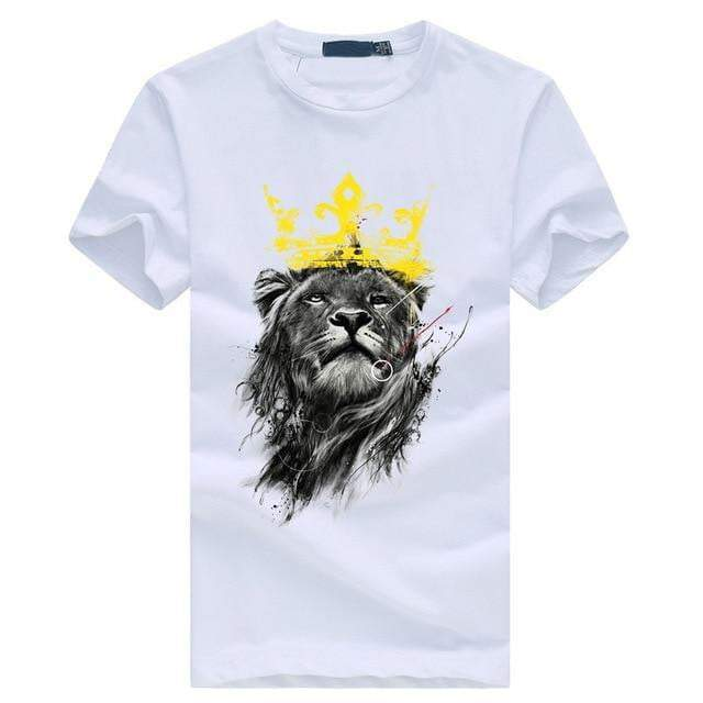 Lion Printed T-Shirts - RinmakStyle