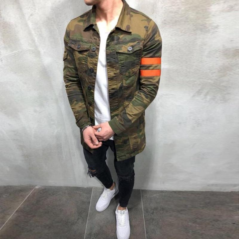 Casual Camouflage Jacket