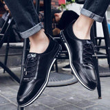 Leather Fashion Shoes (2 colors) - RinmakStyle