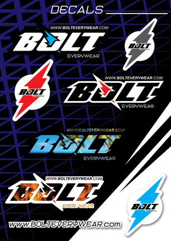 Bolt Everywear Decal Sheet