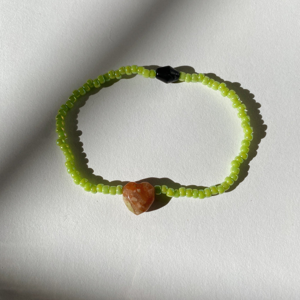 SWEETHEART BRACELET - CARAMEL APPLE POP