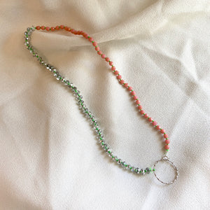 SO KNOTTY BEADED NECKLACE - TIKTOK