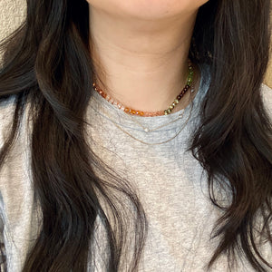 SO KNOTTY BEADED NECKLACE - MOLLY