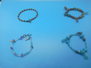 Bracelets- Ankle Set or Individual