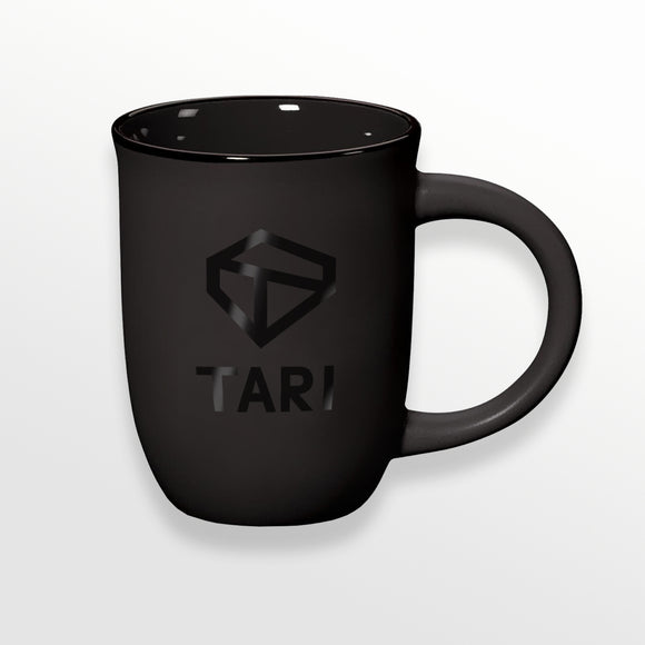 Black on Black Tari Mug
