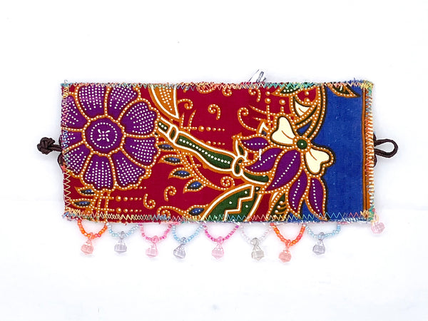 Elisa hand embroidered cuff
