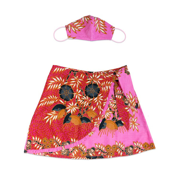 Woman MASKirt Pink unique size (small and medium)
