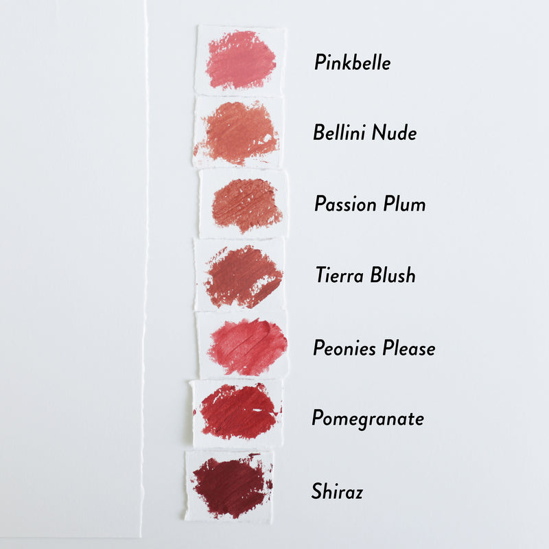 Hynt Beauty ARIA Pure Lipstick Swatches