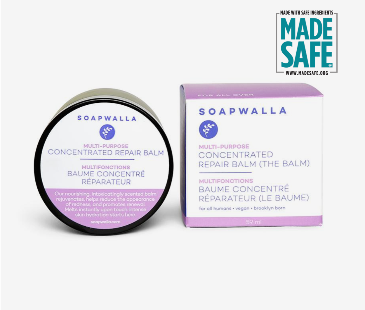 Soapwalla Concentrated Repair Balm