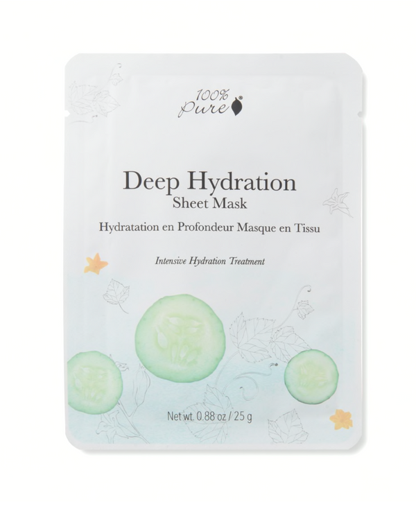 100 Percent Pure Deep Hydration Sheet Mask